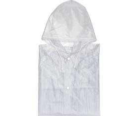 Phthalatfreie Regenjacke mit praktischen Druckknöpfen und Kapuze