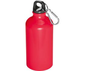 Trinkflasche aus Metall mit Karabinerhaken, 500 ml