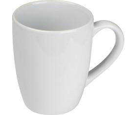 Weiße Keramiktasse, 300ml
