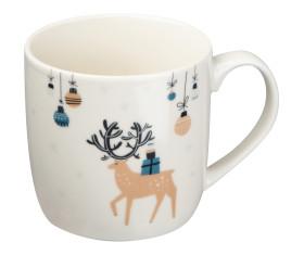 Tasse mit Weihnachtsmotiv