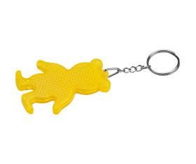 Reflektierender Schlüsselanhänger Bär