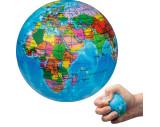 Anti-Stressball in Weltkugeloptik